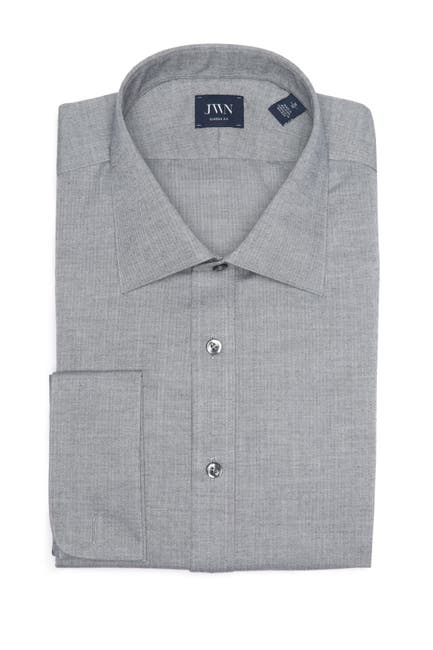 Image of John W. Nordstrom Solid Long Sleeve Classic Fit Shirt