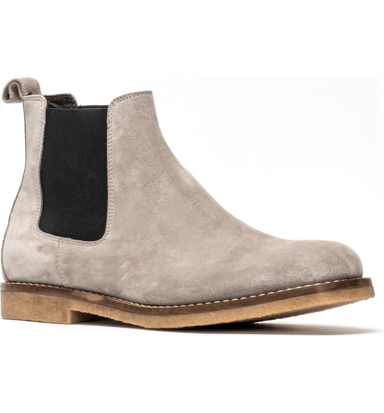 RODD & GUNN Gertrude Valley Water Repellent Chelsea Boot, Main, color, STONE