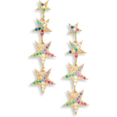 Karen London Falling Star Drop Earrings
