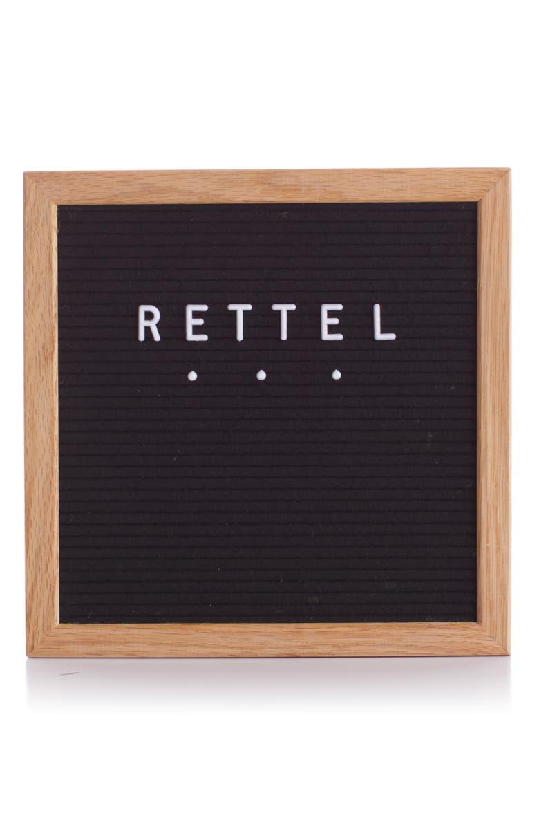 RETTEL Small Talk Letterboard, Main, color, 001