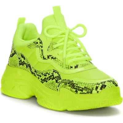 Jessica Simpson Speedy Sneaker- Yellow