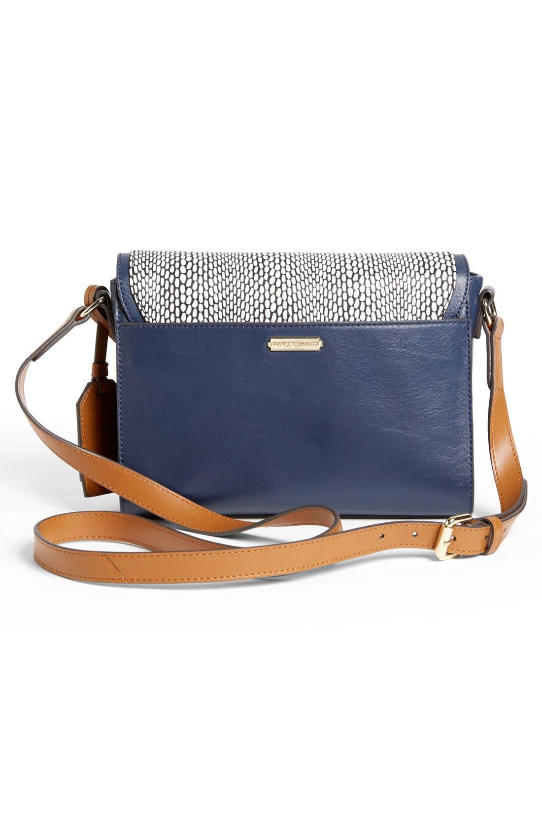 ,                             'Max' Leather Crossbody Bag,                             Alternate thumbnail 22, color,                             490