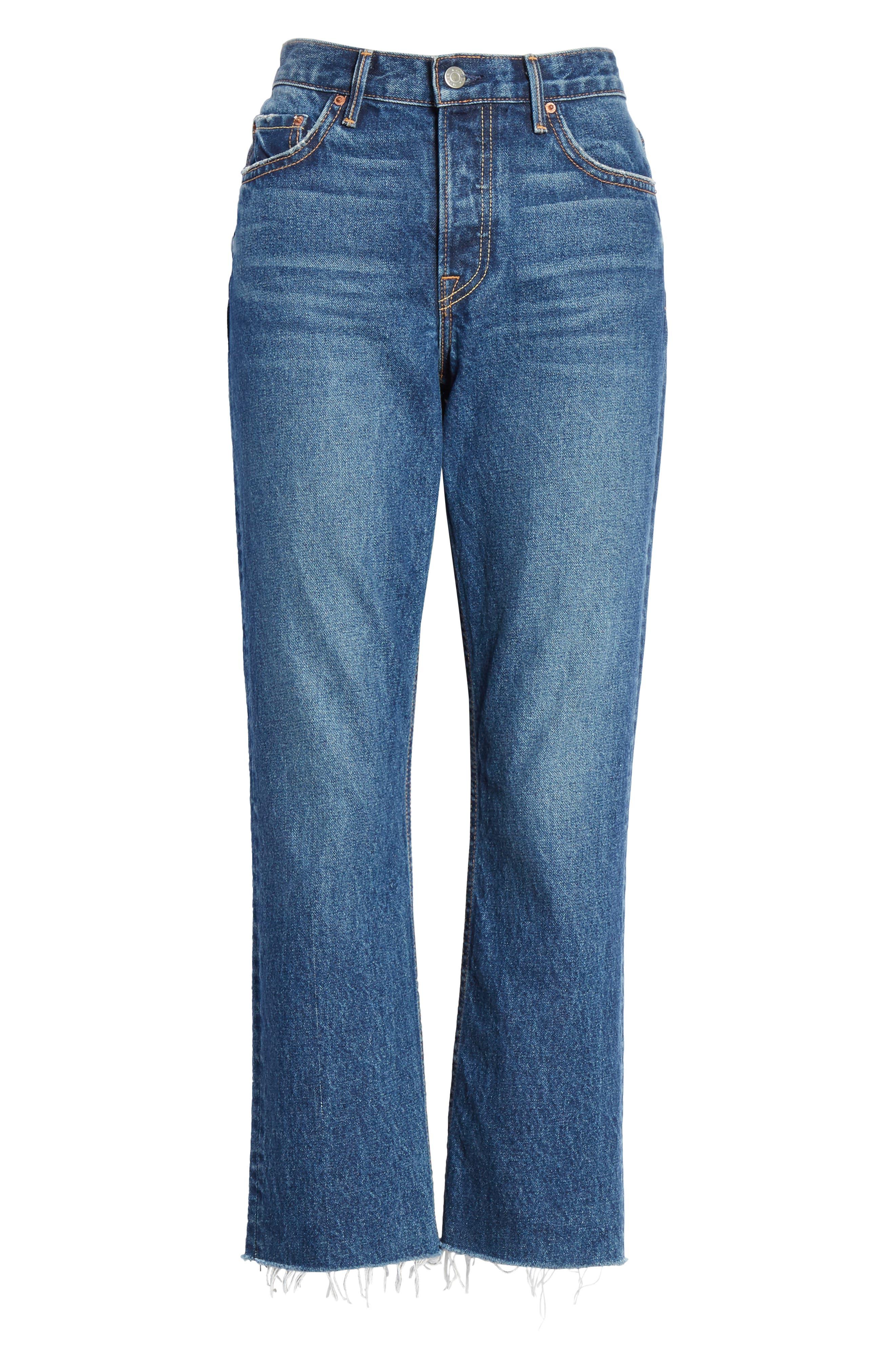 ,                             Tatum Crop Flare Jeans,                             Alternate thumbnail 7, color,                             430