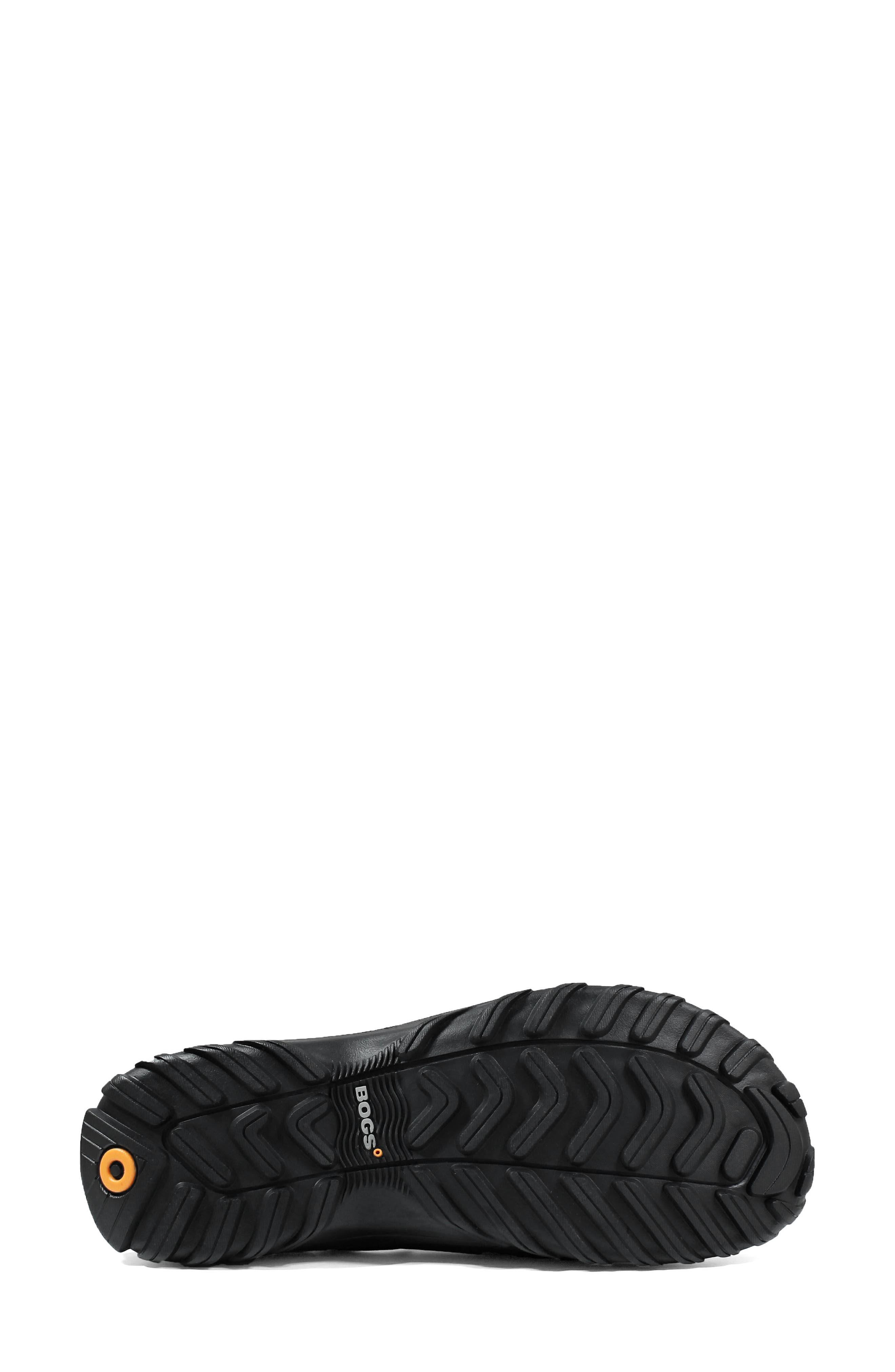 ,                             Sauvie Waterproof Chelsea Boot,                             Alternate thumbnail 5, color,                             BLACK RUBBER
