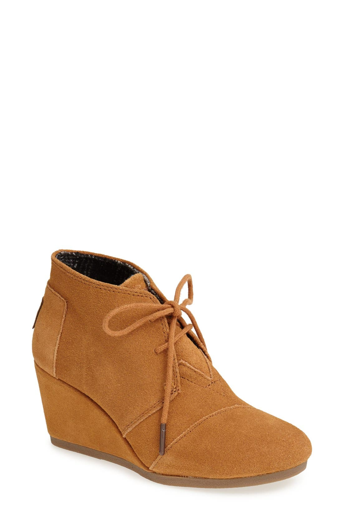 ,                             'Desert' Wedge Bootie,                             Main thumbnail 7, color,                             200