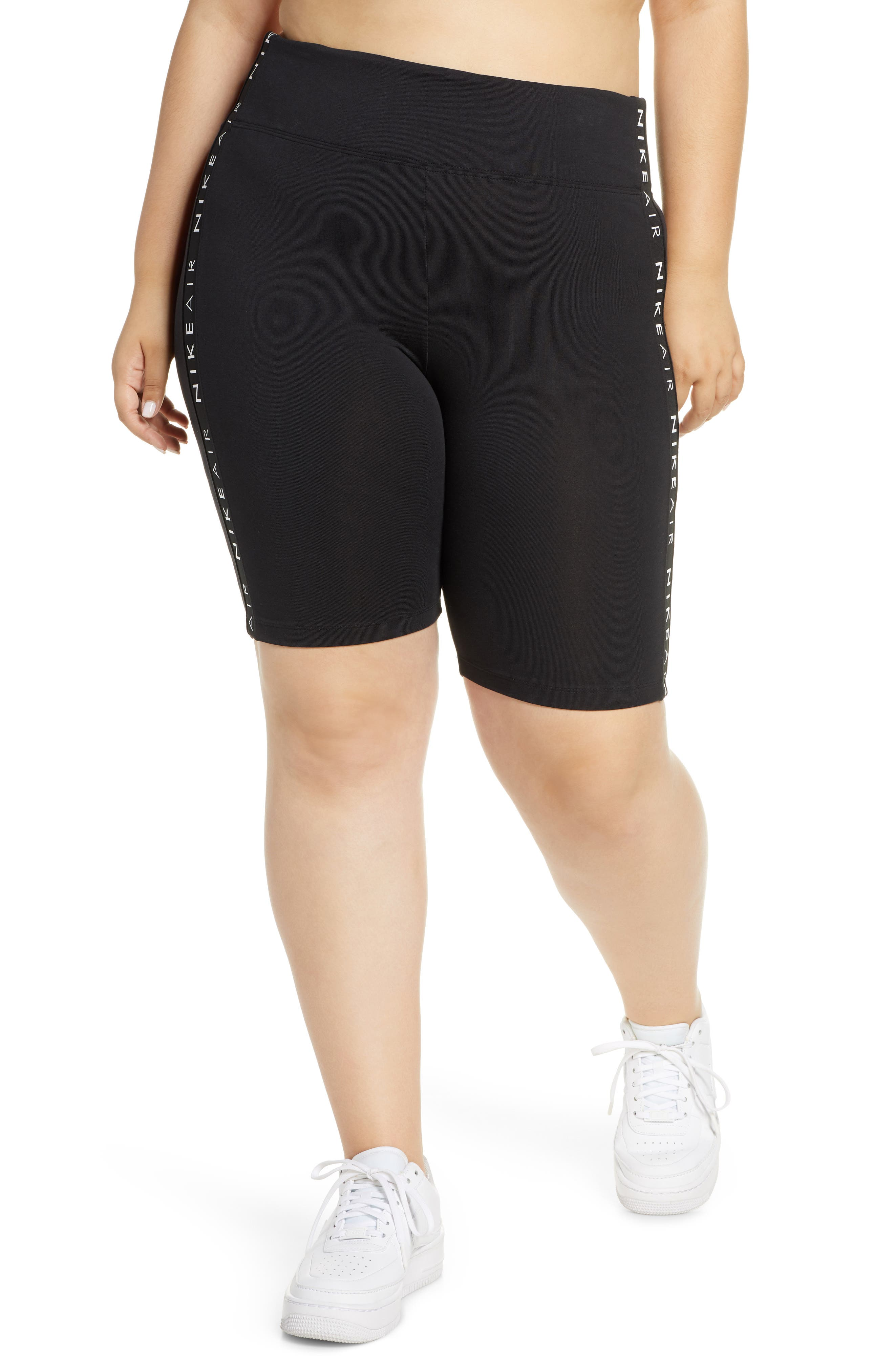 Plus Women's Nike Sportswear Air High Waist Bike Shorts