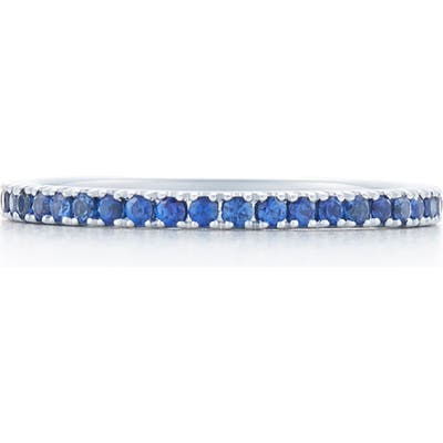 Kwiat Blue Sapphire Stackable Ring