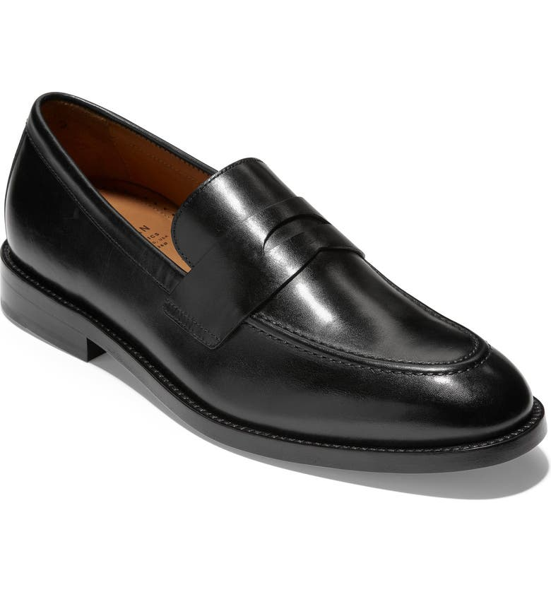 COLE HAAN American Classics Kneeland Penny Loafer, Main, color, 001