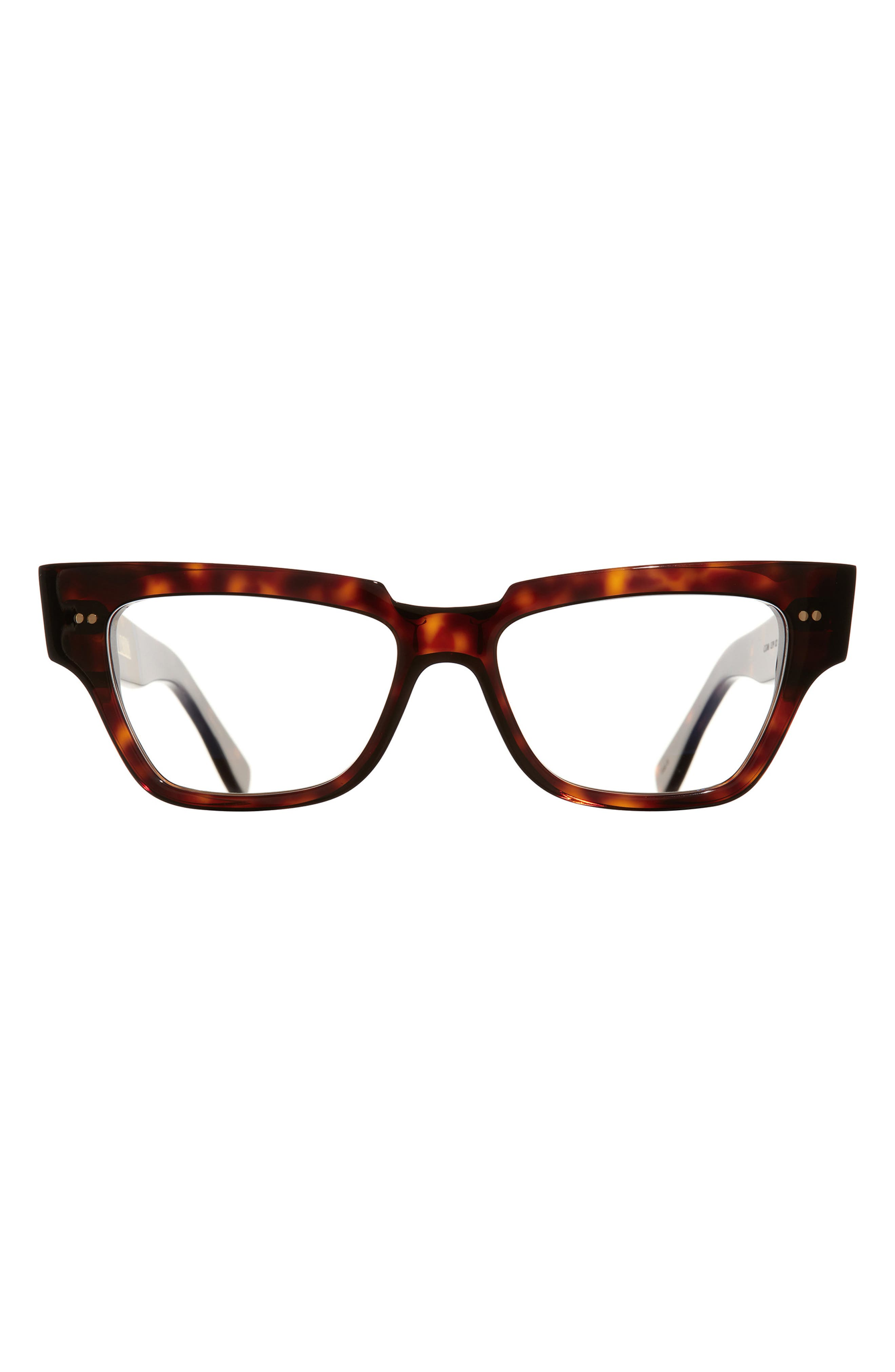 54mm Square Blue Light Blocking Glasses