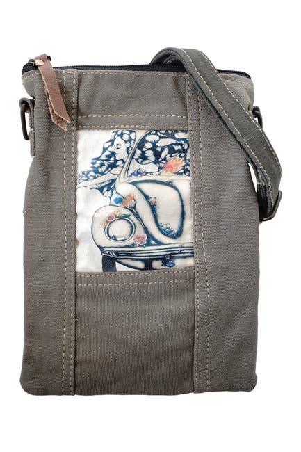 Image of Vintage Addiction Beetle Flower Girl Tent Crossbody Bag