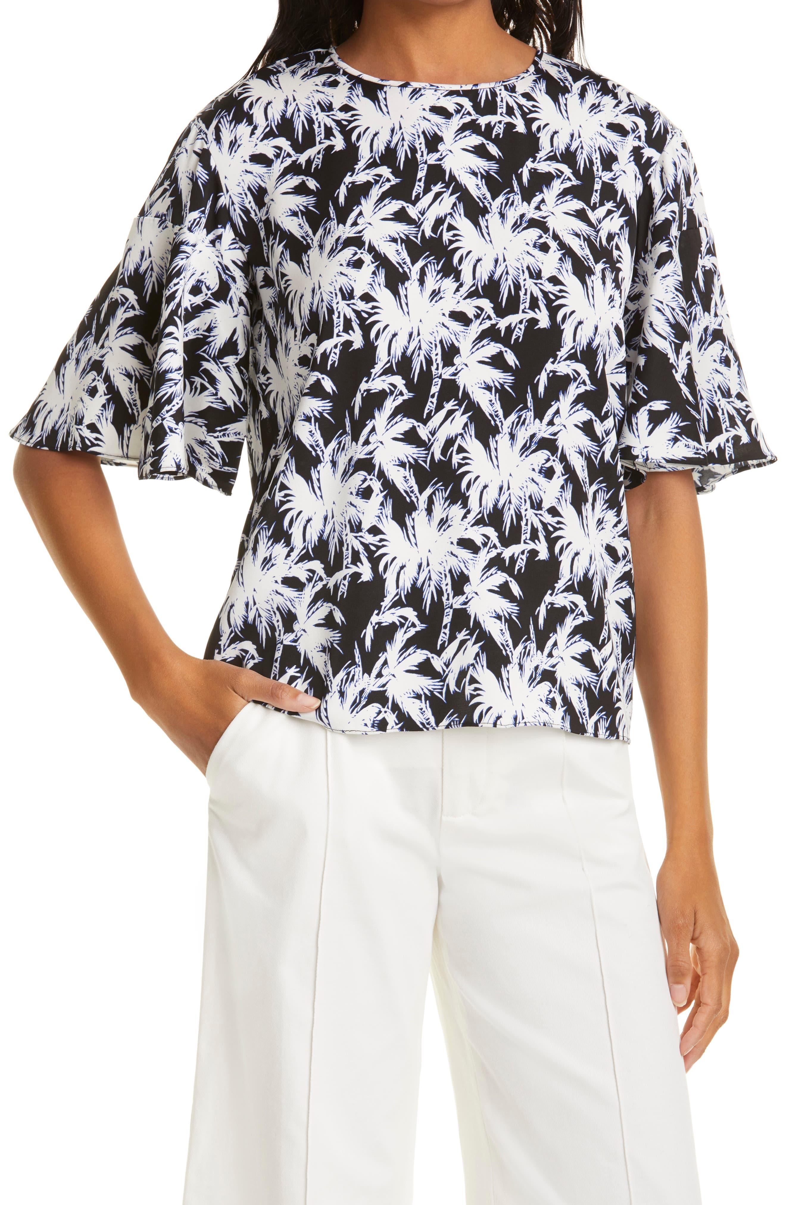 Arlene Flutter Sleeve Top