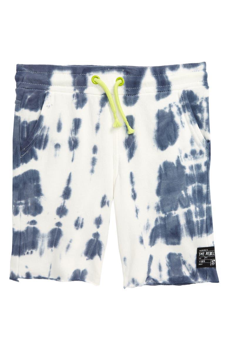 JOE'S Tie Dye Knit Jogger Shorts, Main, color, 900
