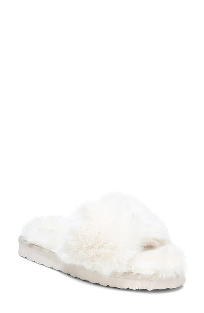 Sam Edelman JINNIE FAUX FUR SLIPPER