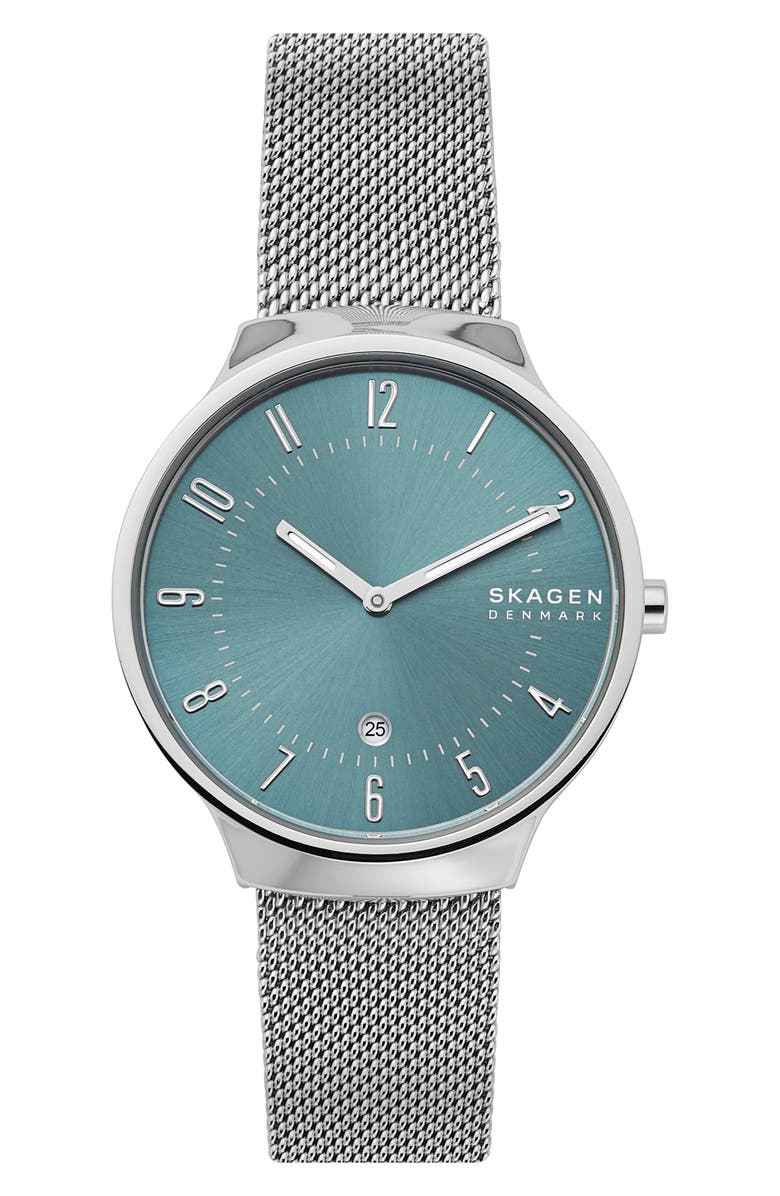 Skagen Grenen Mesh Strap Watch 38mm