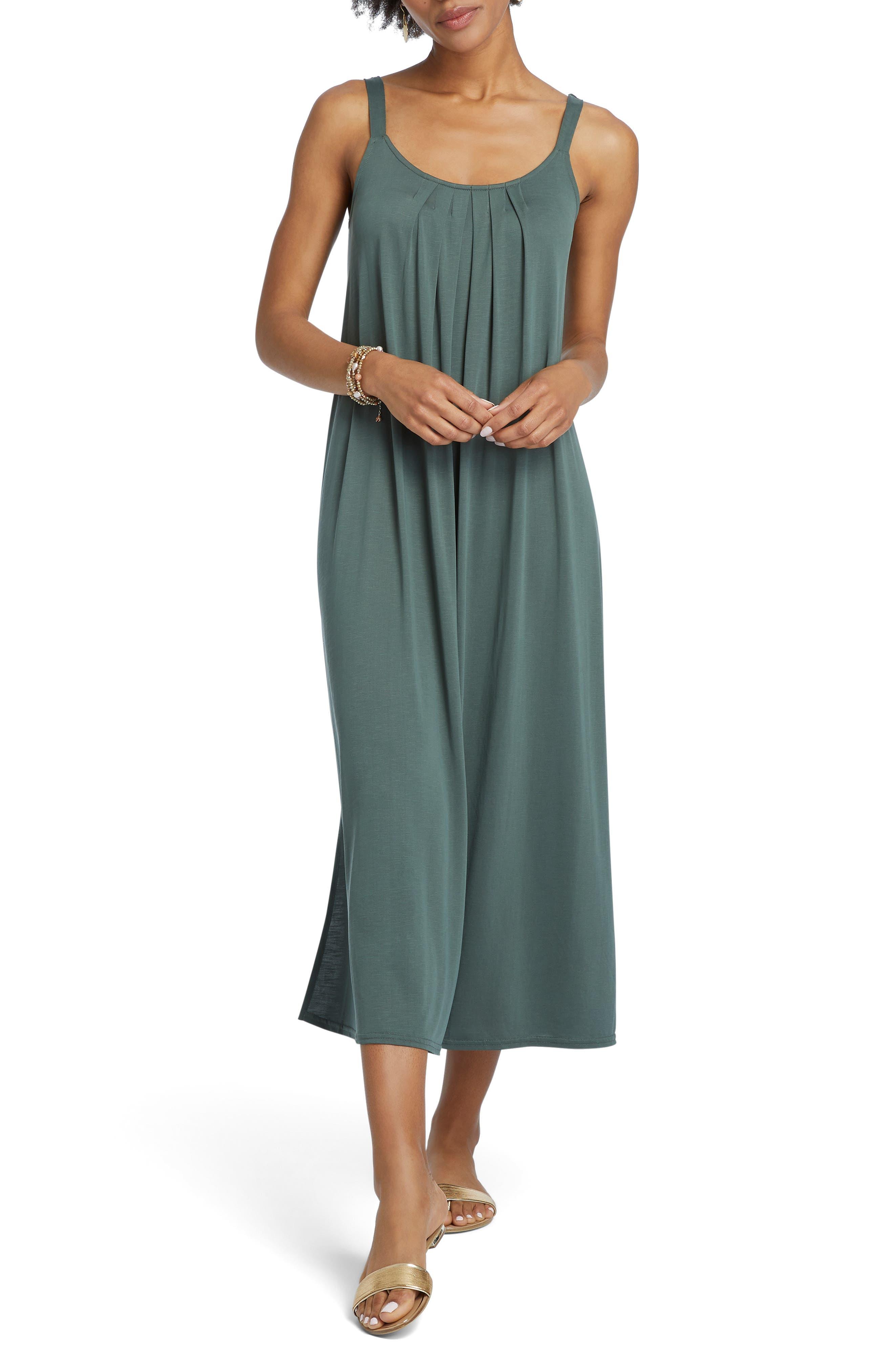 Nic+Zoe Boardwalk Shift Dress, Green