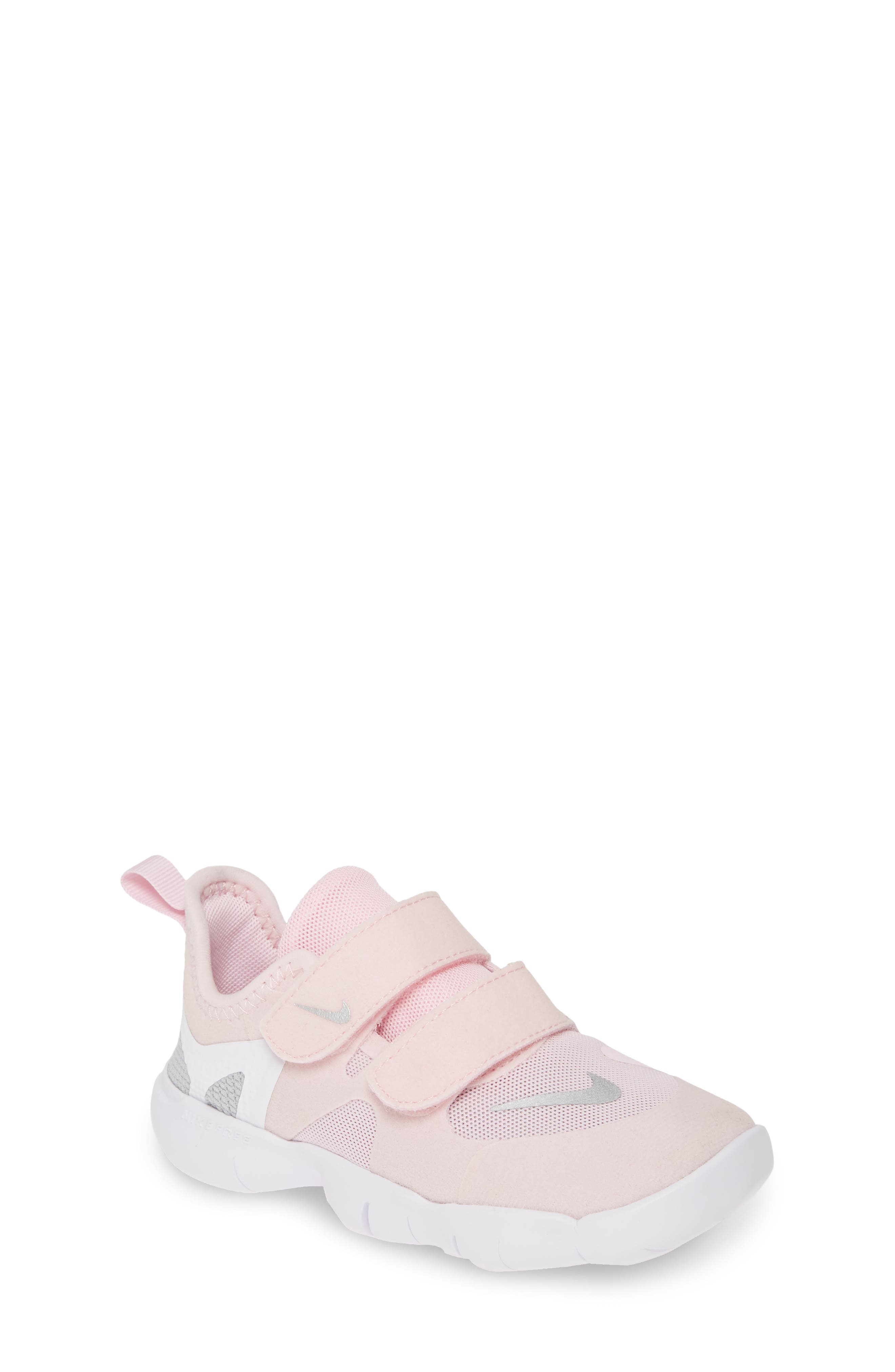 Toddler Nike Free Run 50 Sneaker Size 15 M  Pink