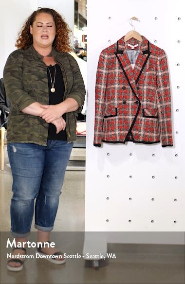 Harriet Cutaway Blazer, sales video thumbnail