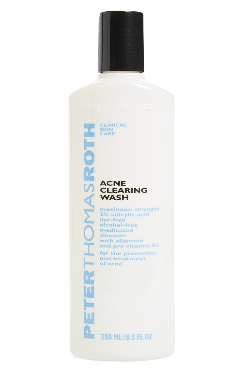 PETER THOMAS ROTH Acne Clearing Wash, Main, color, NO COLOR