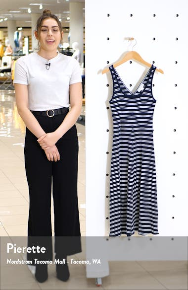 Stripe Tank Midi Dress, sales video thumbnail