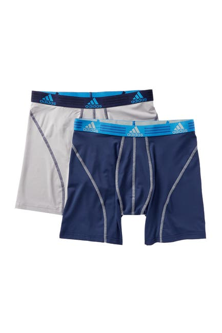 Image of adidas Climalite Performance Boxer Briefs - Pack of 2