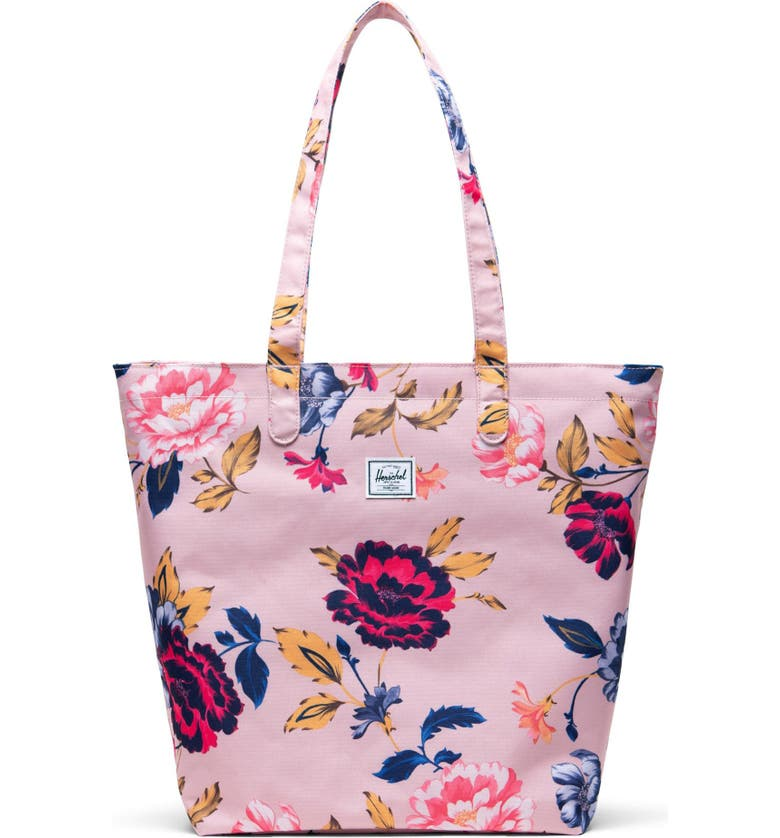 HERSCHEL SUPPLY CO. Mica Tote, Main, color, WINTER FLORA