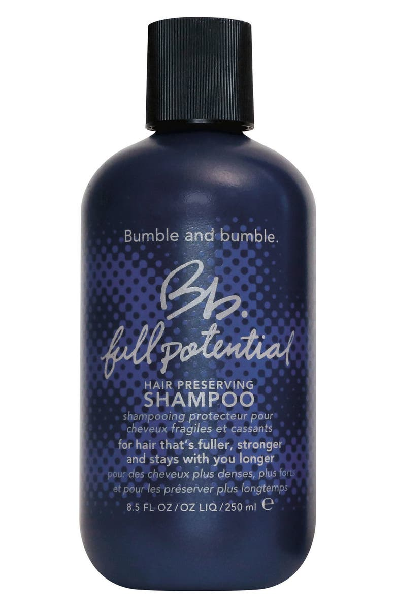 BUMBLE AND BUMBLE. Bumble and bumble Full Potential Shampoo, Main, color, NO COLOR