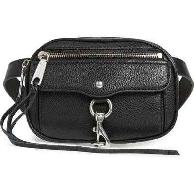 Rebecca Minkoff Blythe Leather Belt Bag - Black