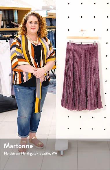 Pleated Midi Skirt, sales video thumbnail