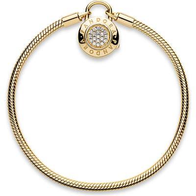 Pandora Shine Signature Padlock Bracelet