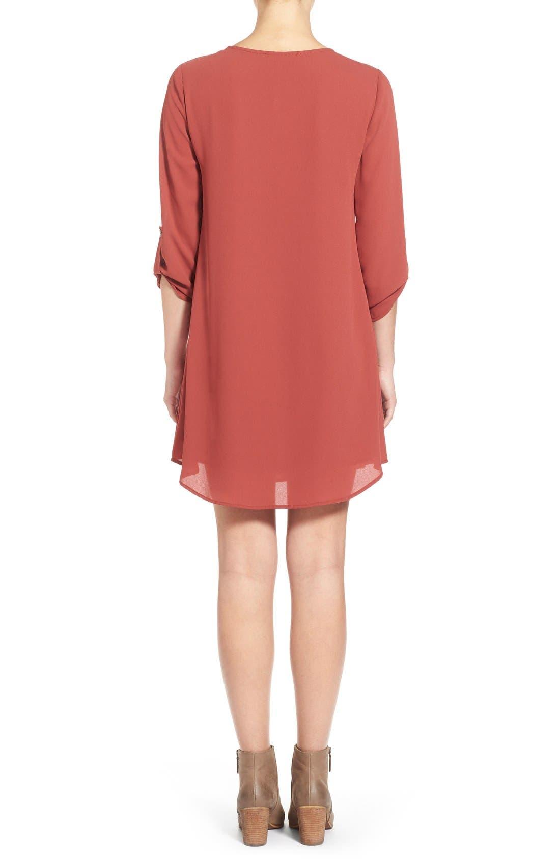 ,                             Karly Shift Dress,                             Alternate thumbnail 118, color,                             620