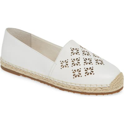 Kate Spade New York Garcia Espadrille Flat- White