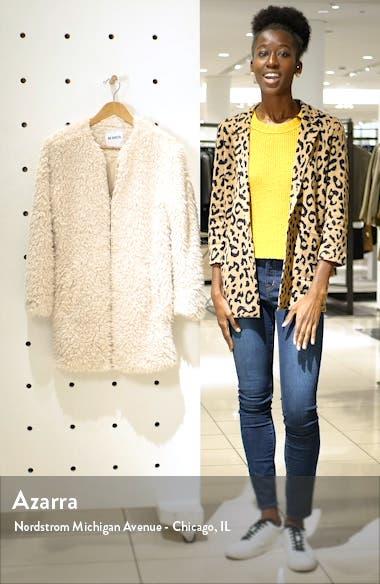 Soft Spot Faux Fur Coat, sales video thumbnail