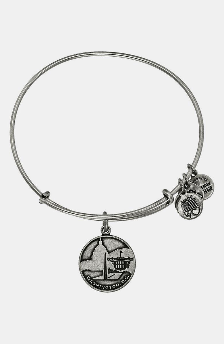 Alex and Ani 'Washington DC' Expandable Wire Bracelet