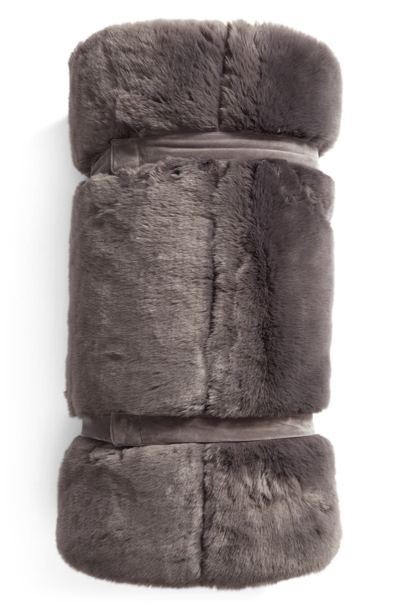 NORDSTROM AT HOME Cuddle Up Faux Fur Sleeping Bag, Main, color, 021