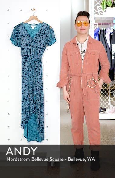 Mantinique High/Low Wrap Dress, sales video thumbnail