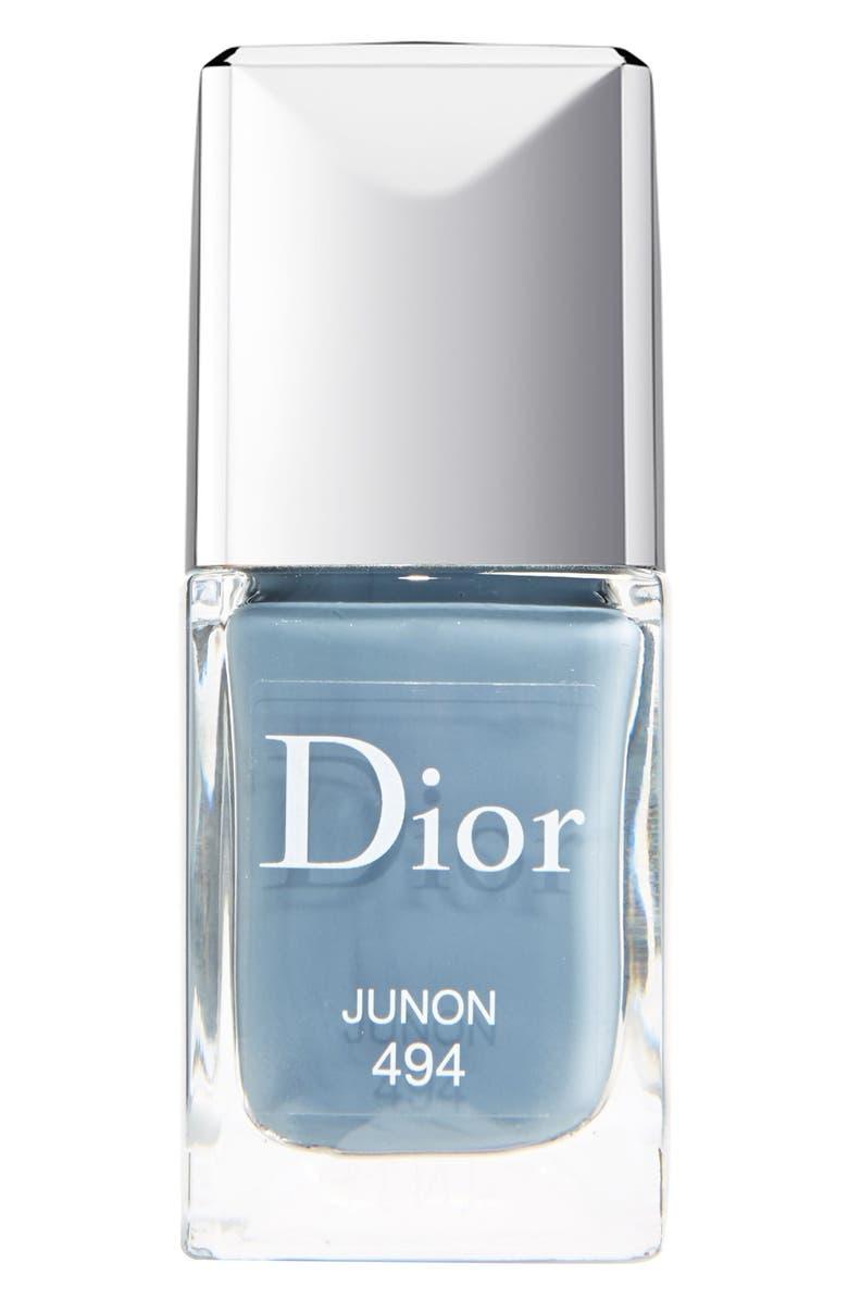 DIOR Vernis Gel Shine & Long Wear Nail Lacquer, Main, color, 494 JUNON