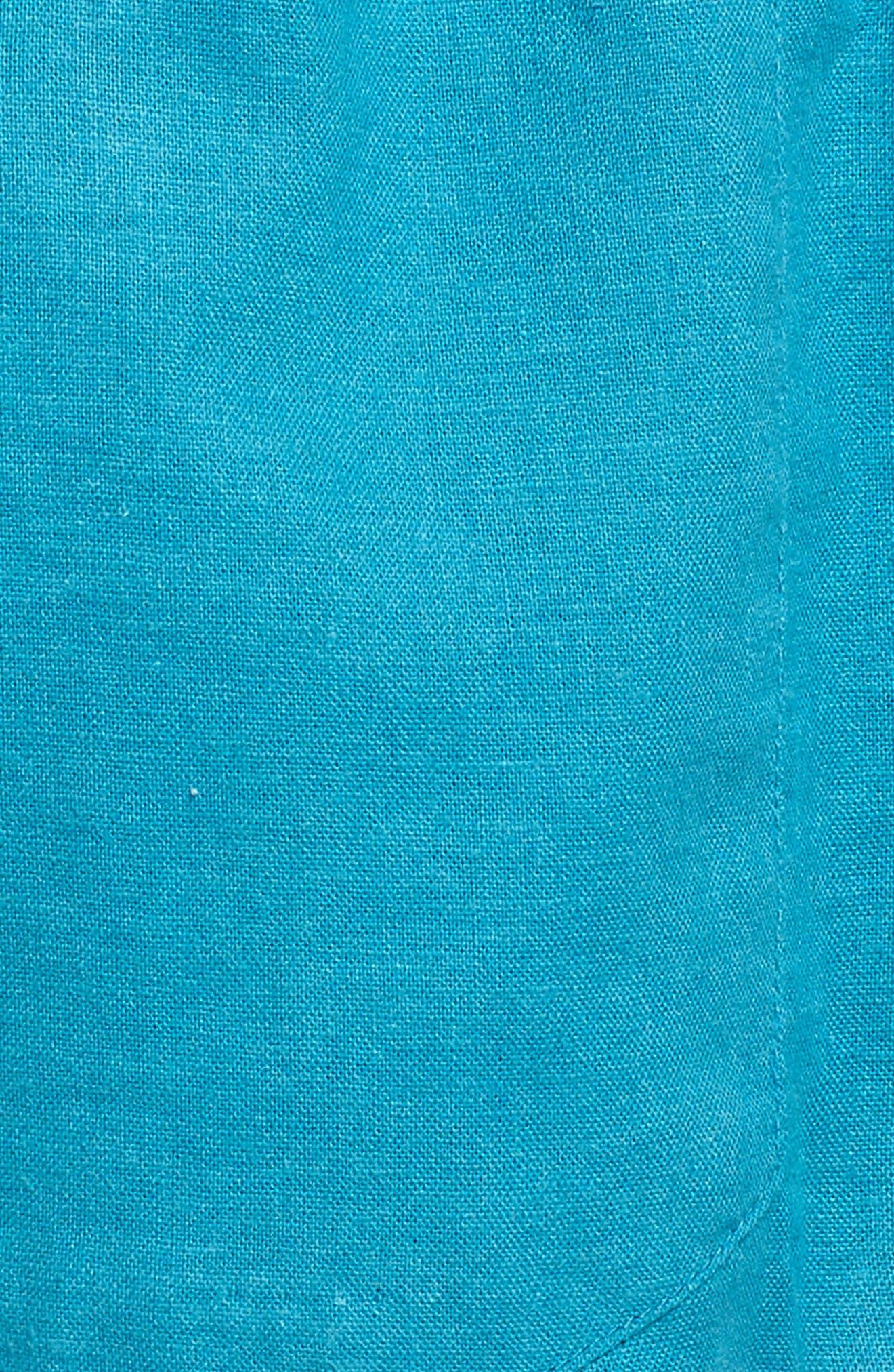 ,                             'Oceanside' Linen Blend Shorts,                             Alternate thumbnail 35, color,                             421