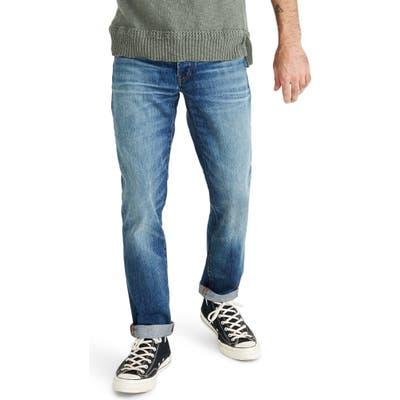 Madewell Straight Rigid Jeans