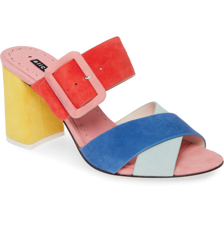 ALICE + OLIVIA Leda Sandal, Main, color, 400