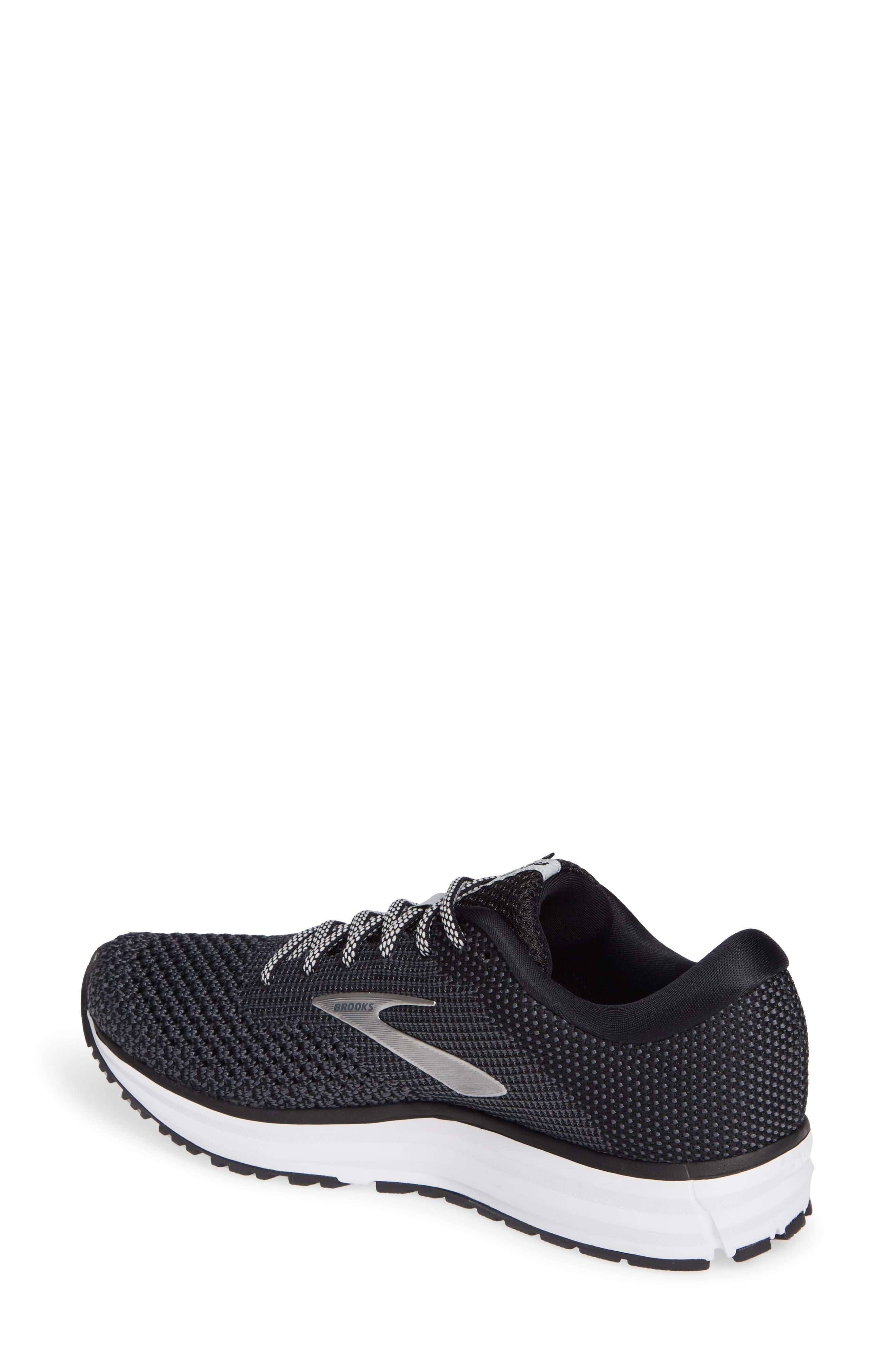 ,                             Revel 2 Running Shoe,                             Alternate thumbnail 2, color,                             BLACK/ GREY/ GREY