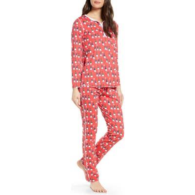 Roller Rabbit Gnoels Pajamas, Red