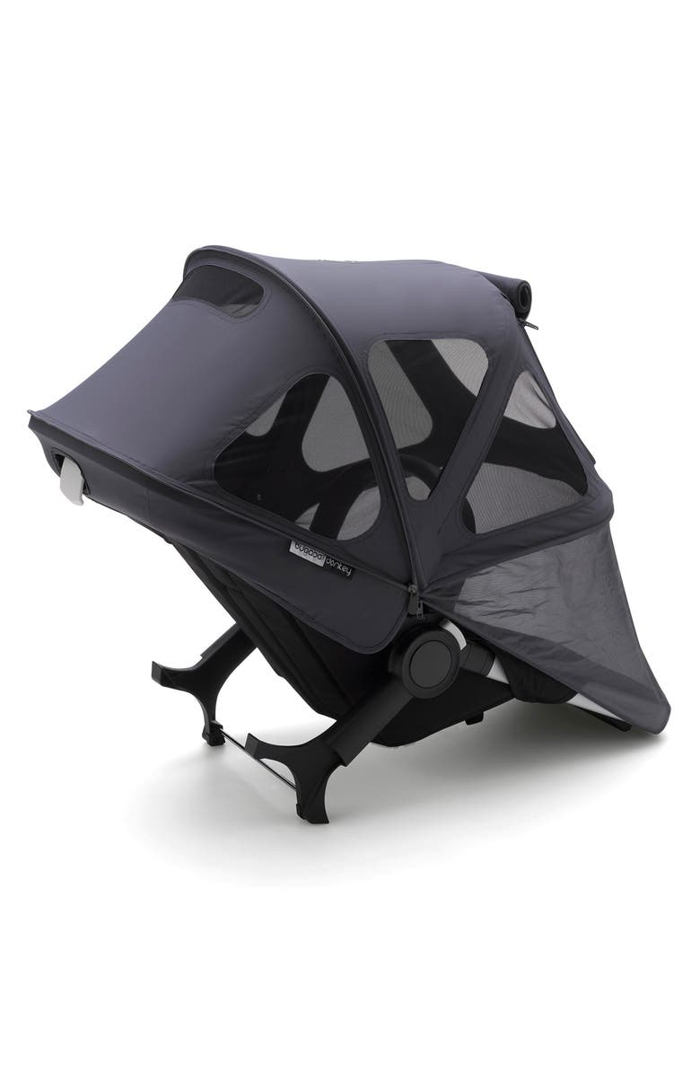 BUGABOO Stellar Breezy Limited Edition Reflective Sun Canopy for Bugaboo Donkey2 Stroller, Main, color, MIDNIGHT BLUE