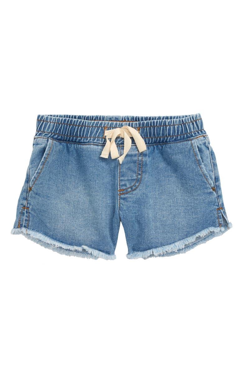 BILLABONG Wild Sun Cutoff Shorts, Main, color, INDIGO