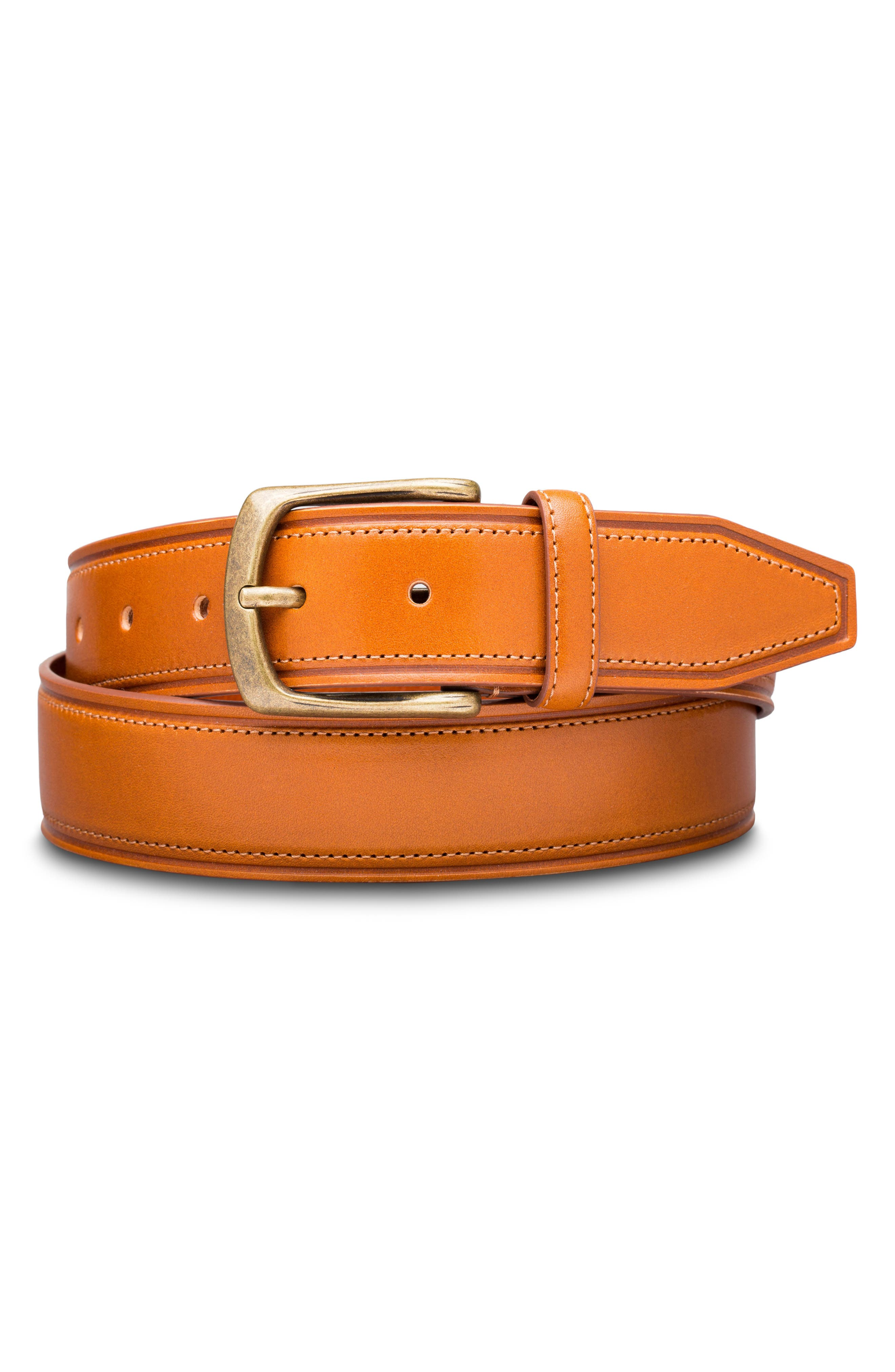 Palermo Leather Belt