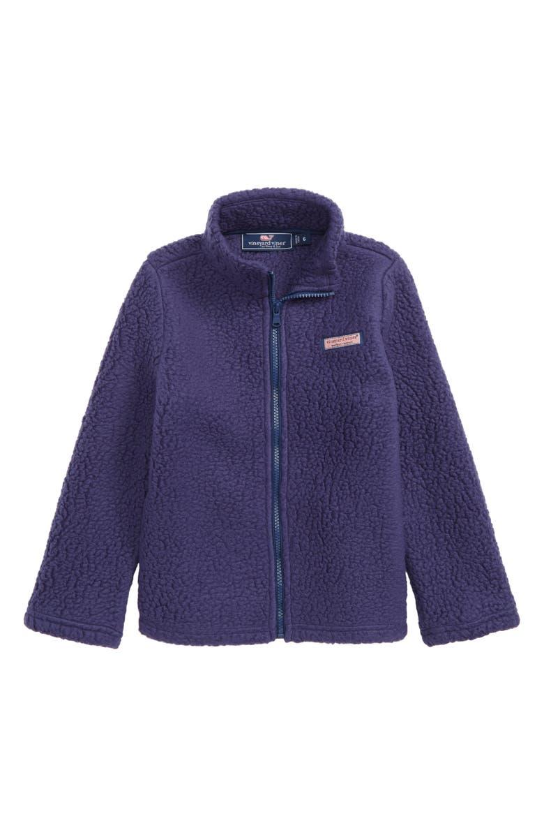 VINEYARD VINES Heritage Fleece Sweatshirt, Main, color, MOONSHINE