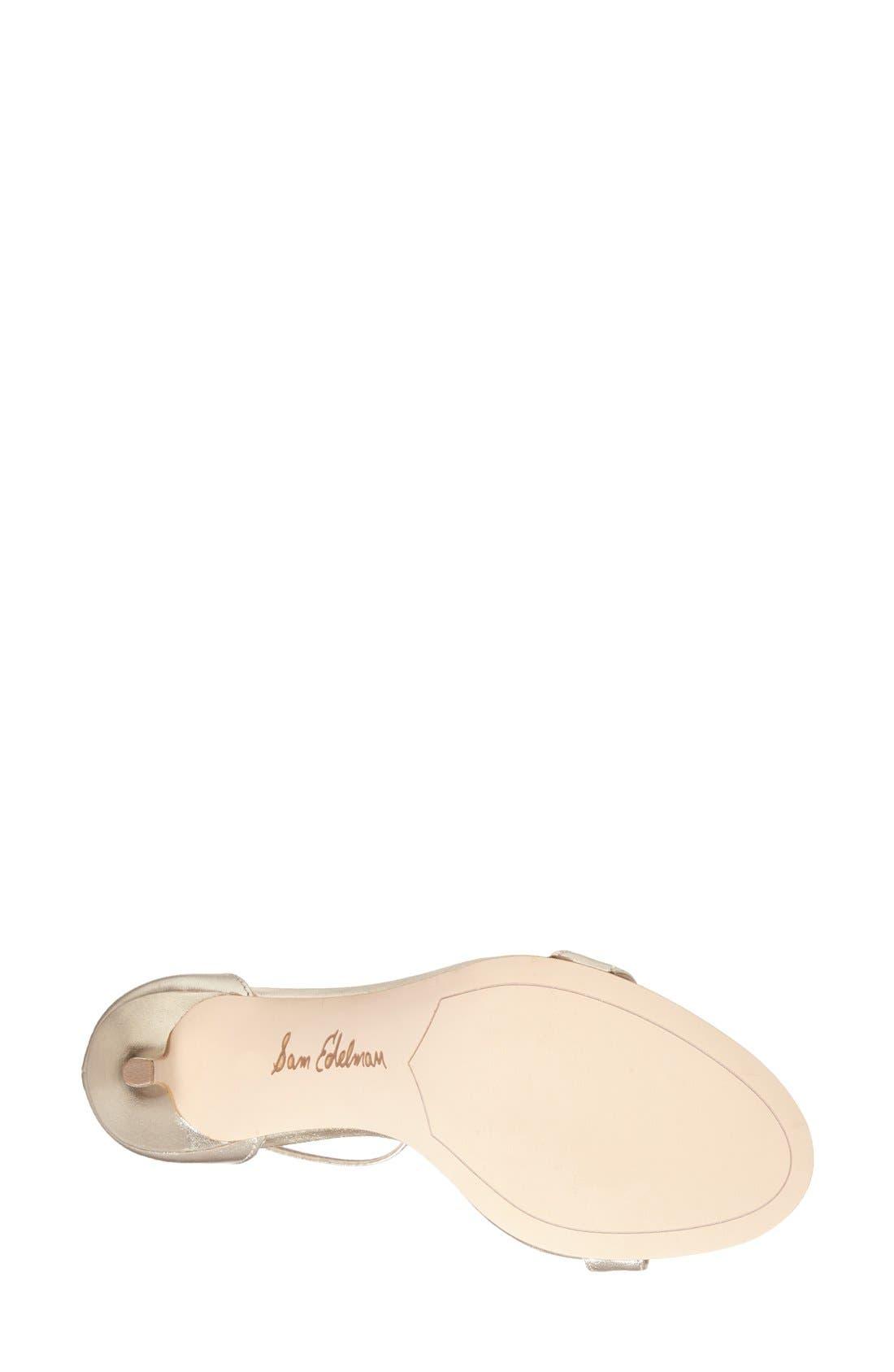 ,                             'Patti' Ankle Strap Sandal,                             Alternate thumbnail 211, color,                             900