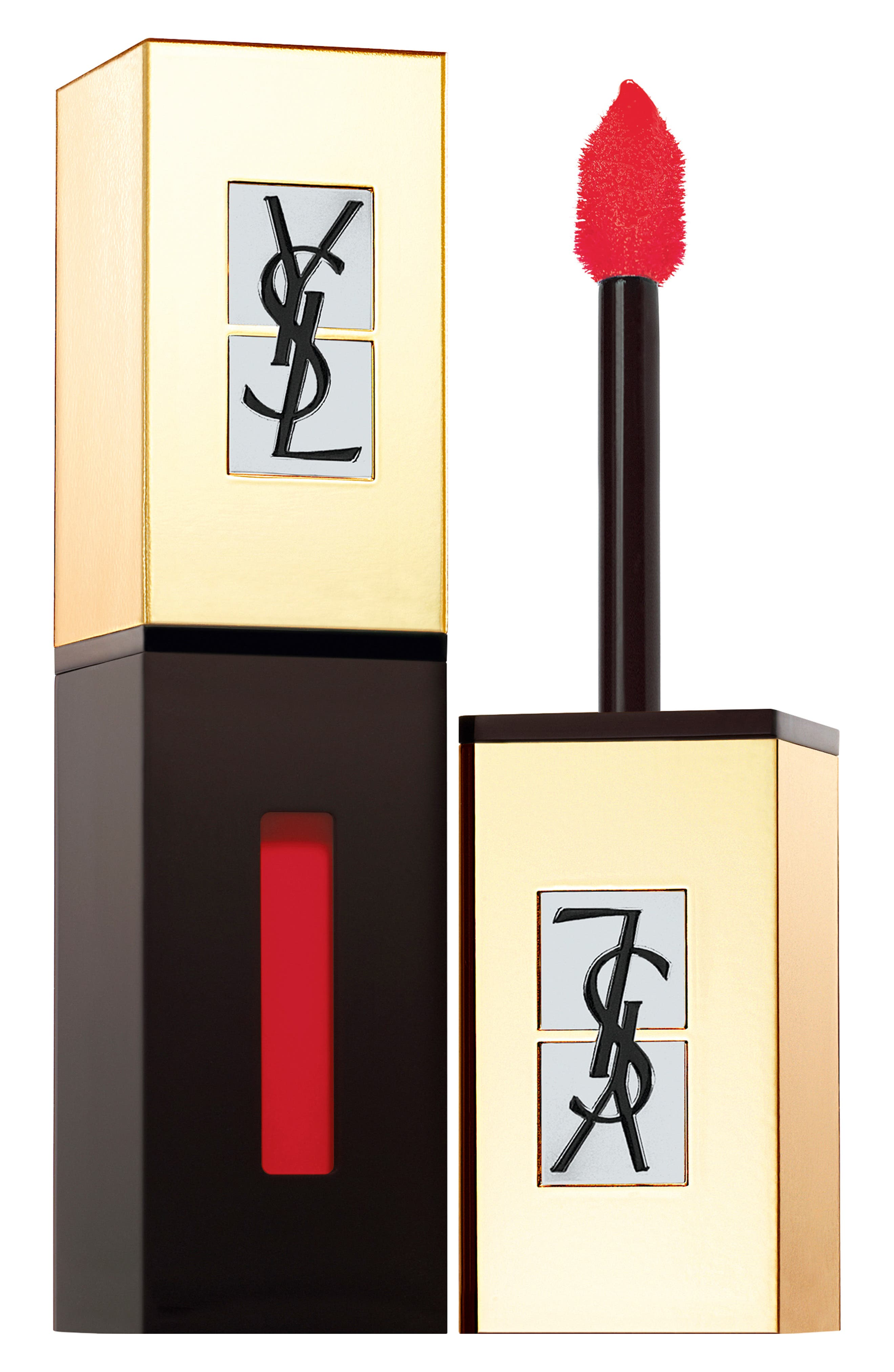 Yves Saint Laurent Pop Water Vernis A Levres Glossy Stain - 217 Red Spray