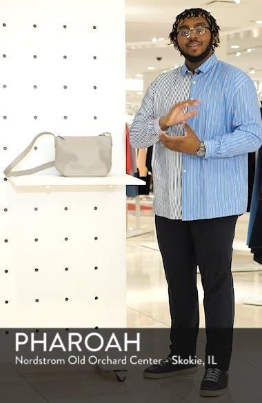 Large Sam Faux Leather Crossbody Bag, sales video thumbnail