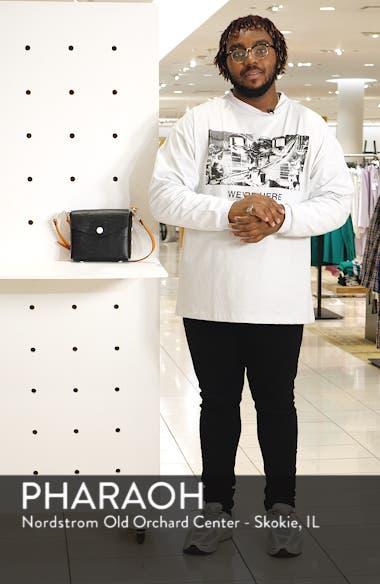 Atlas Camo Embossed Leather Shoulder Bag, sales video thumbnail