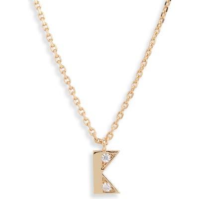 Kate Spade New York Mini Initial Pendant Necklace